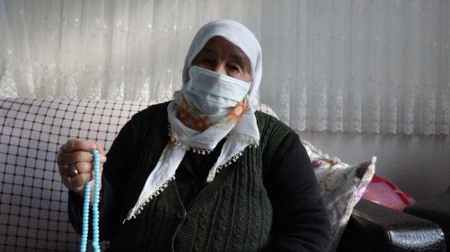 Akçaabat ta koronavirüs ü evde atlatan yaşlı kadın  herkes aşısını olsun  dedi #6