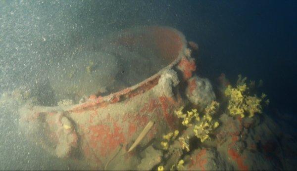 18. yüzyıla ait Rus savaş gemisi kalıntıları sergilendi
