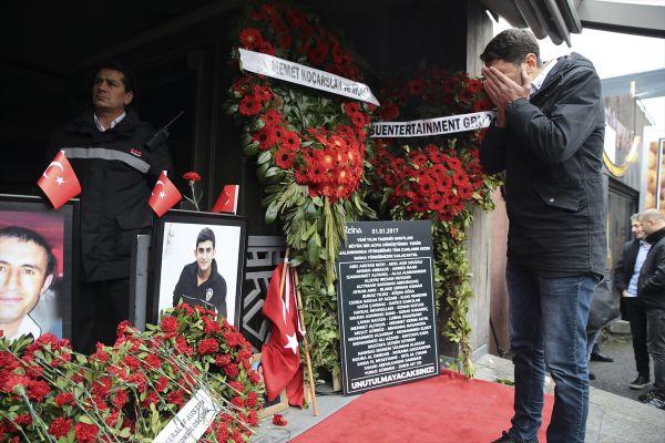 Reina saldırısında hayatını kaybedenler anıldı