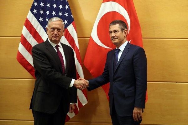 Bakan Canikli, ABD'li mevkidaşıyla görüştü