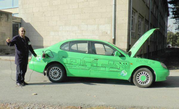 Elektrikli araç üreten lise Avrupa'ya eğitim verecek