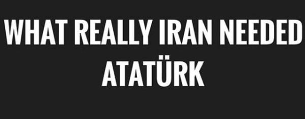 Tahran'ın Zengin Çocukları'ndan Atatürk paylaşımı