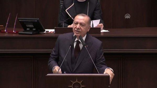 Başkan Erdoğan'ın AK Parti grup toplantısı konuşması