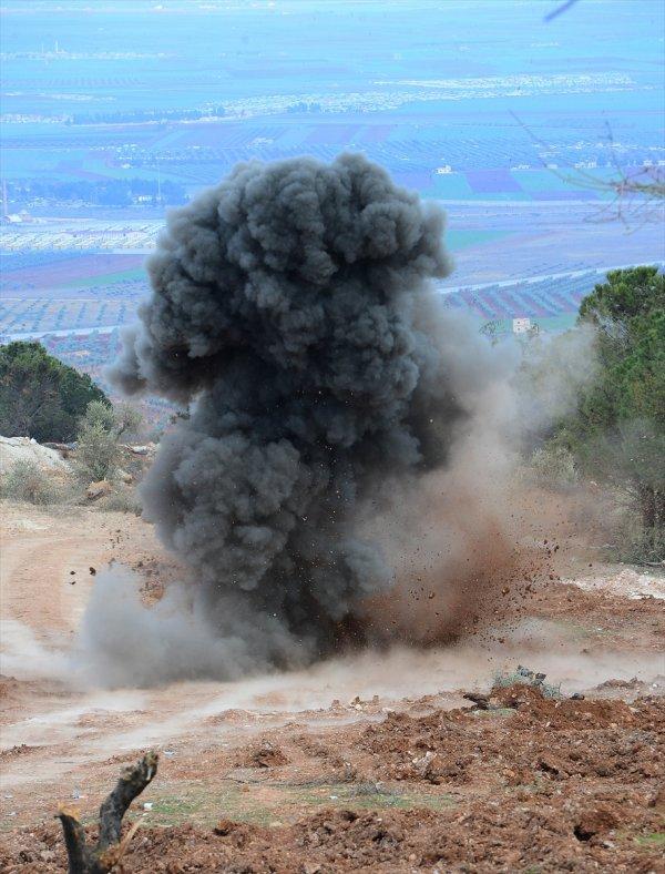 Burseya Dağı patlayıcılardan arındırılıyor