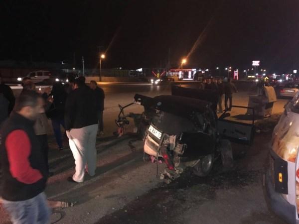 Sakarya'da trafik kazası: 2 yaralı