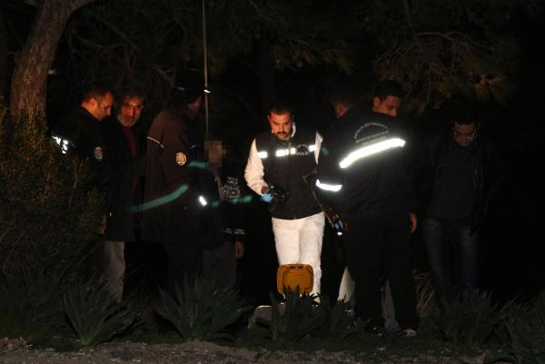 Antalya'da ormanlık alanda erkek cesedi bulundu