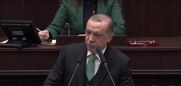 Cumhurbaşkanı Erdoğan, AK Parti grup toplantısında