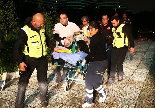 Falezlerden düşen kişi 6 saat sonra kurtarıldı