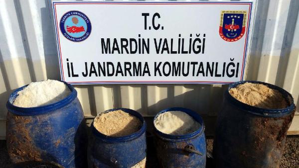 Mardin'de yola tuzaklanan EYP imha edildi