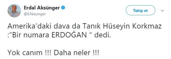 FETÖ'cünün yalanına inanan CHP'li: Erdal Aksünger