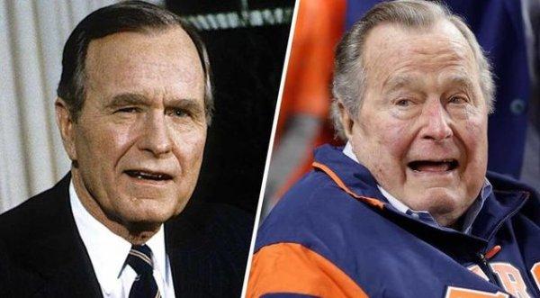 Eski ABD Başkanı George H. W. Bush öldü