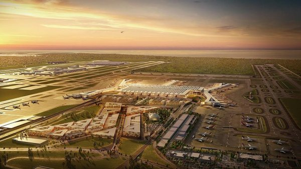 President Erdoğan: Istanbul Airport to be model to world