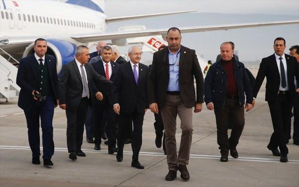 Kemal Kılıçdaroğlu Muğla'da