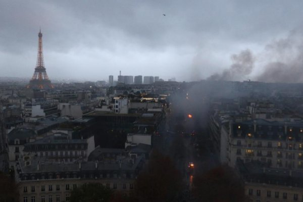 Elderly woman died due to teargas in France