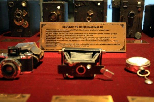 Casus fotoğraf makineleri müzede sergileniyor