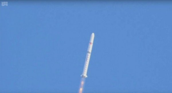 Suudi Arabistan uzaya uydu fırlattı