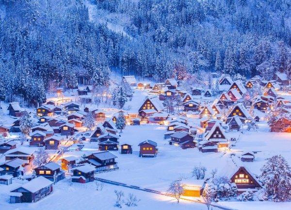 Japonya'nın kartpostal köyü: Shirakawa-go