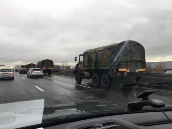 Paris'te eylemcileri durdurmak için panzer getirdiler
