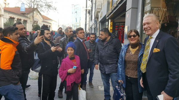 Uğur Dündar'ın İstiklal Caddesi izlenimleri
