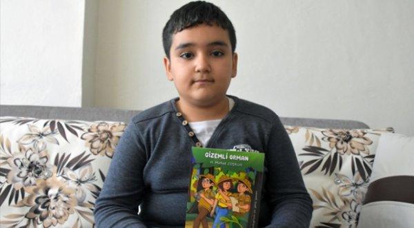 9 yaşındaki Hüseyin rüyadan etkilendi, 4 kitap yazdı