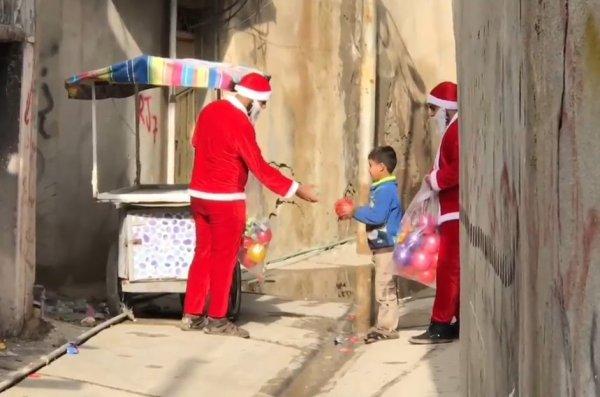 Noel Baba Musul'da
