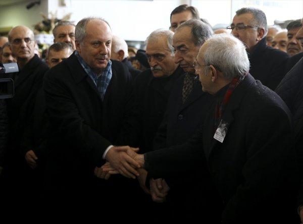 Kılıçdaroğlu Gürsel Erol'un annesinin cenazesine katıldı