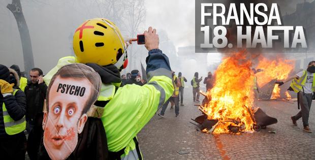Fransa yine savaş alanına döndü