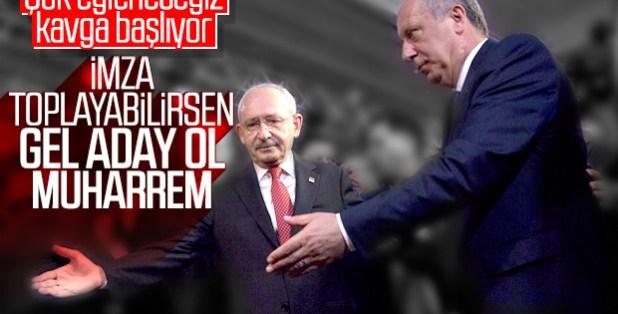 Kemal Kılıçdaroğlu'na Muharrem İnce'nin adaylığı soruldu