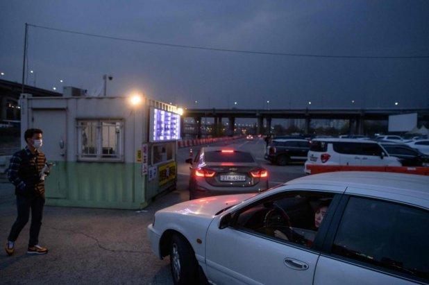 Güney Kore'de korona sonrası arabalı sinemaya yoğun ilgi