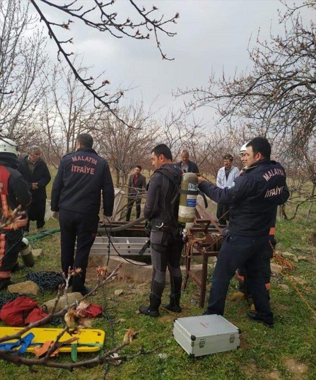 Malatya'da 1 kişi su kuyusuna düşerek hayatını kaybetti