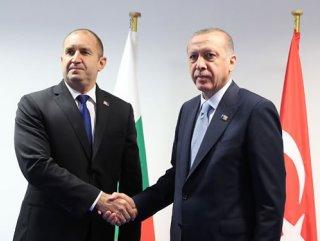 Erdoğan, Bulgaristan Cumhurbaşkanı ile görüştü