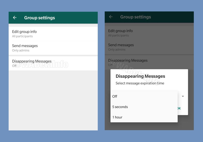 WhatsApp'a otomatik silinen mesajlar geliyor 1