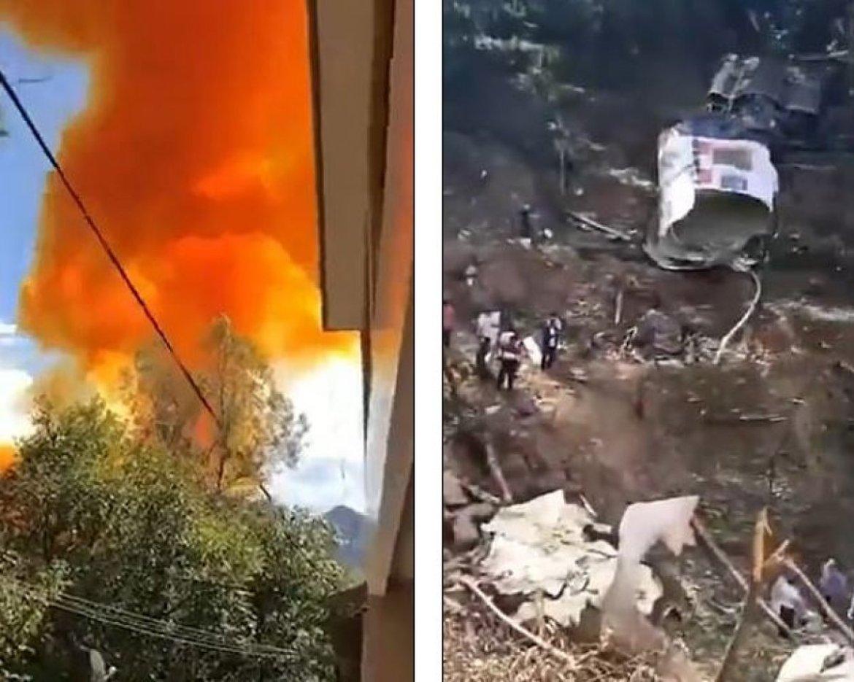Çin'in uzaya gönderdiği roketin iticisi kasabaya düştü #1