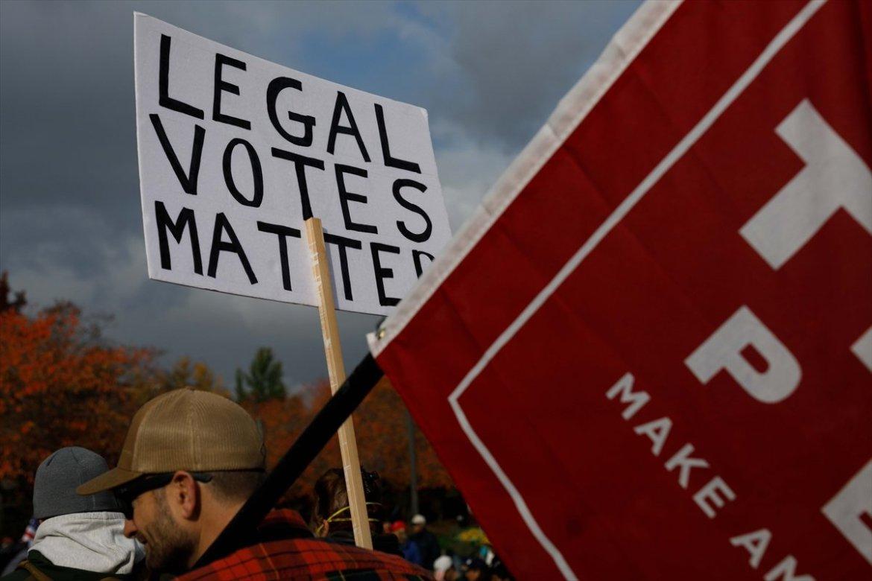 ABD de Trump taraftarı gruplar seçim sonuçlarını protesto etti #6