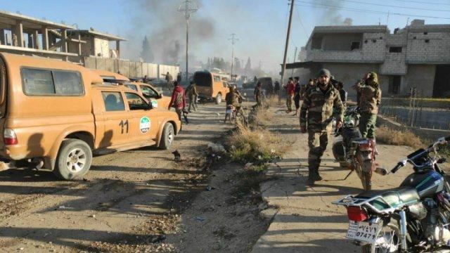fasd 4509 - Rasulayn'daki bombalı araç saldırısında 2 askerimiz şehit oldu
