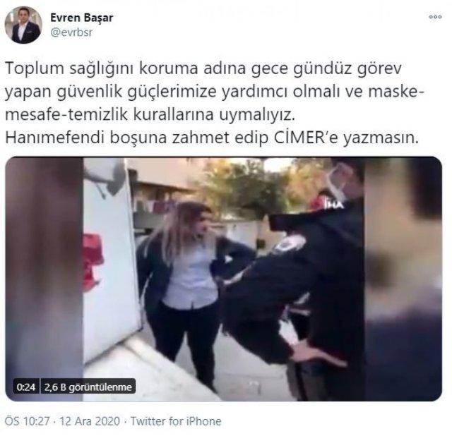 cimer 7084 - Polisleri tehdit eden kadına CİMER'den cevap: Boşuna zahmet edip yazma