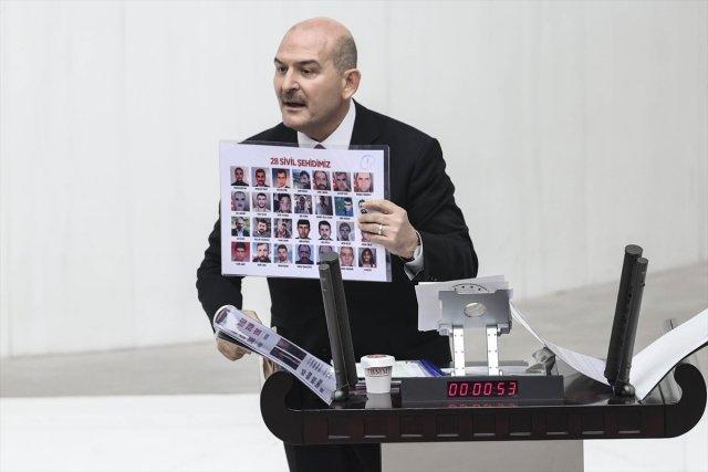 soylu 8599 - Süleyman Soylu'nun sözleri HDP'li vekilleri rahatsız etti