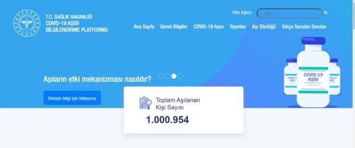 Türkiye de aşılanan kişi sayısı 1 milyonu geçti #4