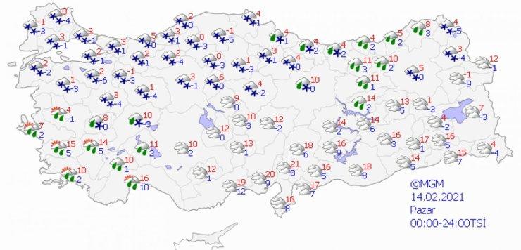 İstanbul u yoğun kar yağışı bekliyor #5