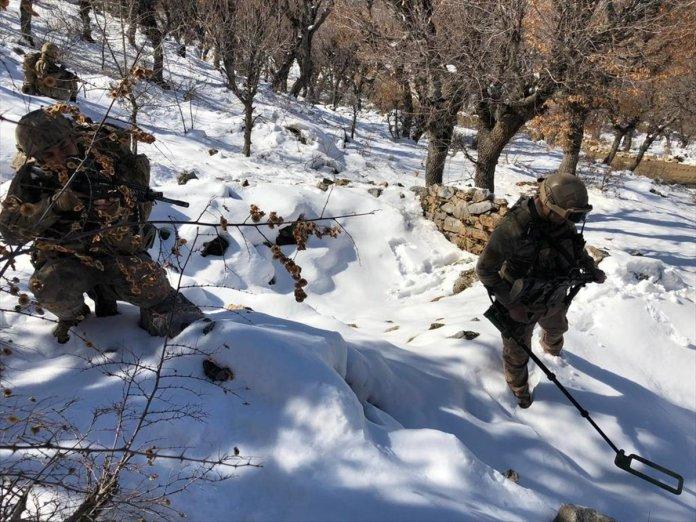 Bitlis ve Siirt te Eren-11 Sehi Ormanları Operasyonu başlatıldı #2