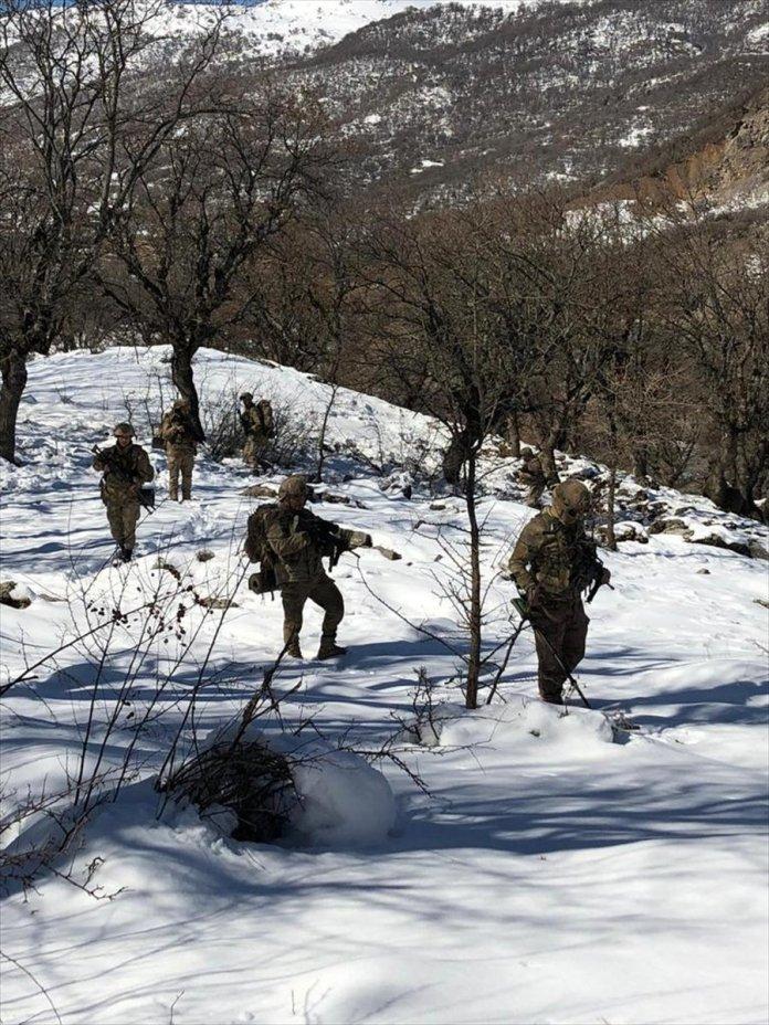 Bitlis ve Siirt te Eren-11 Sehi Ormanları Operasyonu başlatıldı #6