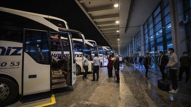 Şehirler arası yolculukta yüzde 50 sınırı kalktı mı? Şehirler arası otobüs yolcu kapasitesi kaç? #1