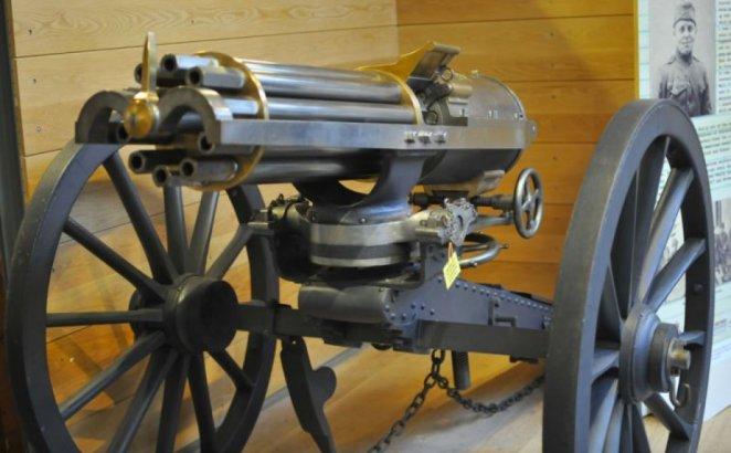 What is Gatling Gun #1