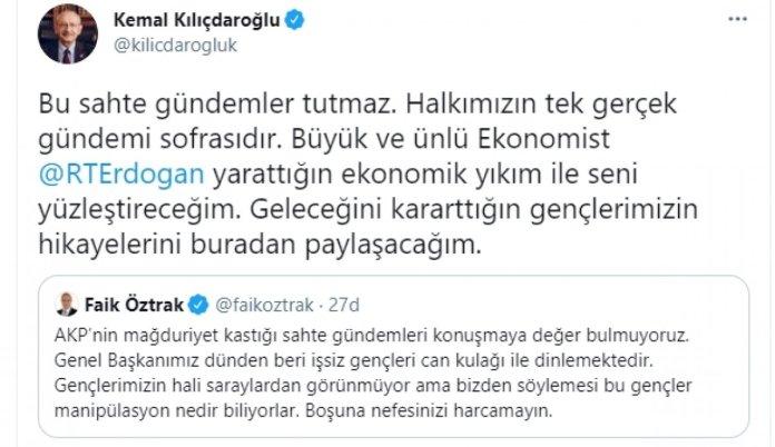 Kemal Kılıçdaroğlu nun amirallerin bildirisi hakkında ilk yorumu #1