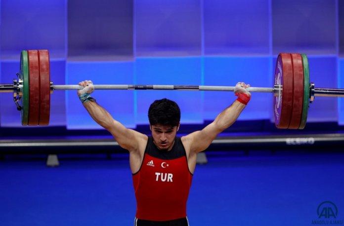 Avrupa Halter Şampiyonası nda Muhammed Furkan Özbek ten 2 altın madalya #2