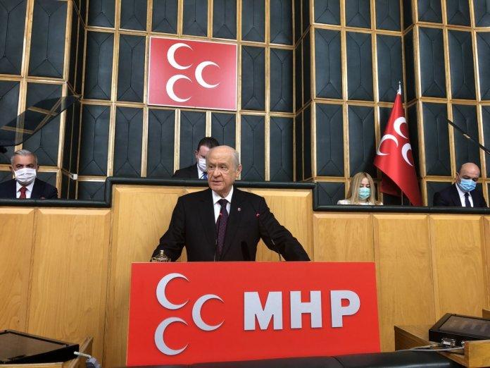 Bahçeli, Anayasa Mahkemesi nin kapatılmasını istedi #1