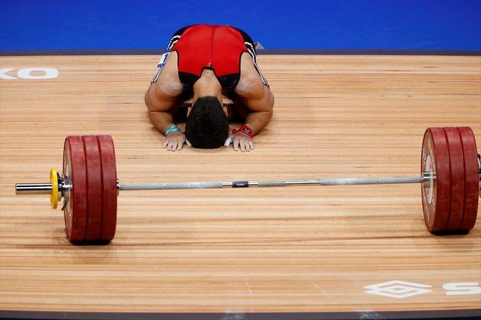 Avrupa Halter Şampiyonası nda Muhammed Furkan Özbek ten 2 altın madalya #4