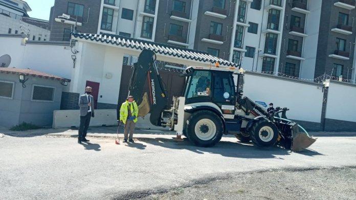 ASKİ, Çin Büyükelçiliği önünde çalışma başlattı #1