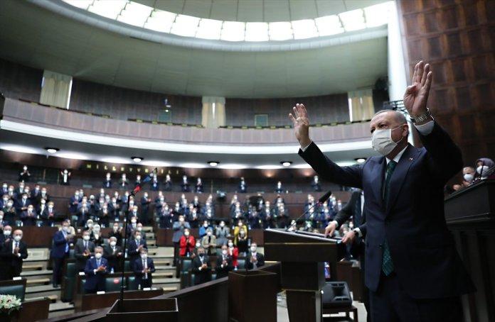 Cumhurbaşkanı Erdoğan ın AK Parti grup toplantısındaki açıklamaları #3