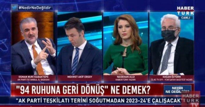 Osman Nuri Kabaktepe, İstanbul seçimlerindeki hedefini açıkladı #1